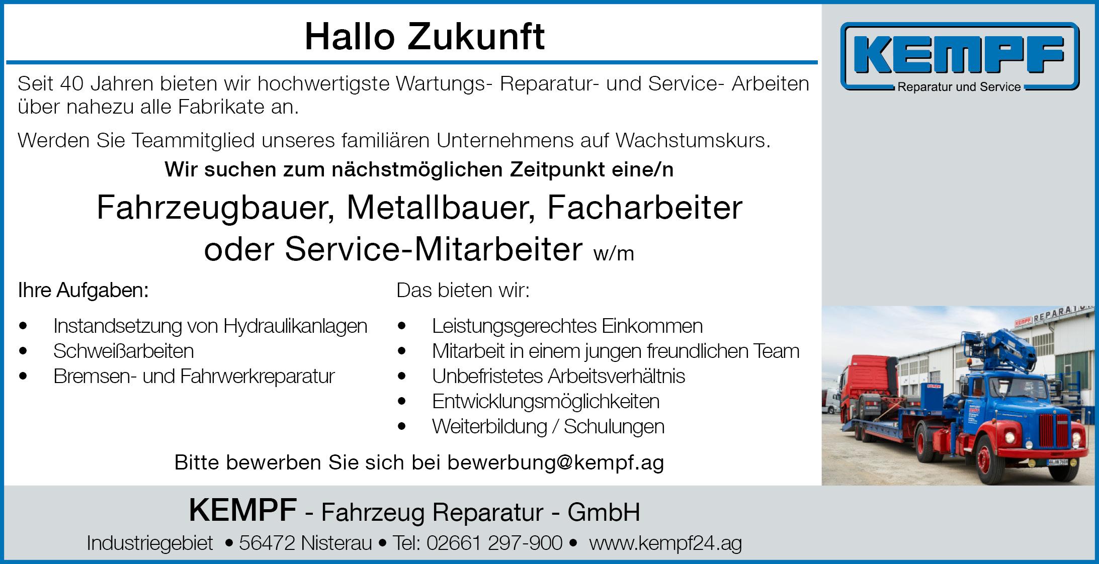 Reparatur Service Mitarbeiter 2020 10